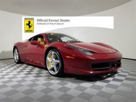 2012 Ferrari 458 Italia:20 car images available