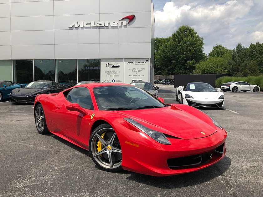 2014 Ferrari 458 Italia:6 car images available