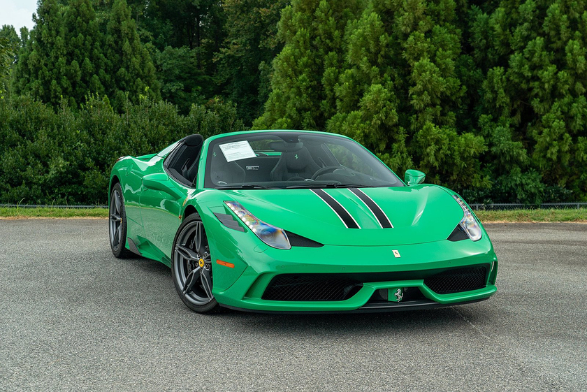2015 Ferrari 458 Speciale Aperta:24 car images available