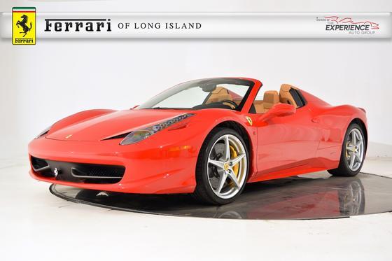 2014 Ferrari 458 Spider:23 car images available