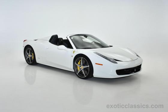 2014 Ferrari 458 Spider:21 car images available