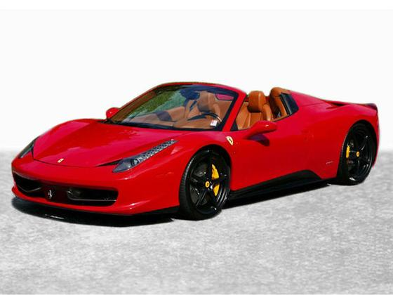 2012 Ferrari 458 Spider:24 car images available