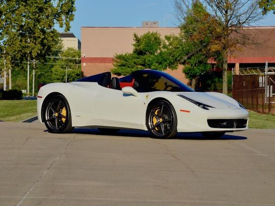 2014 Ferrari 458 Spider:4 car images available