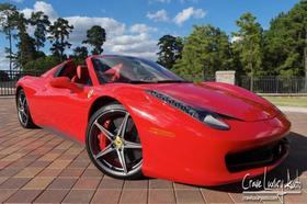 2013 Ferrari 458 Spider:24 car images available
