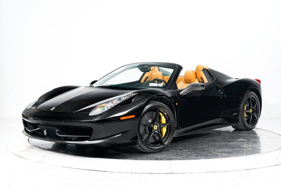 2013 Ferrari 458 Spider : Car has generic photo