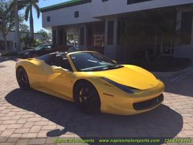 2013 Ferrari 458 Spider:19 car images available