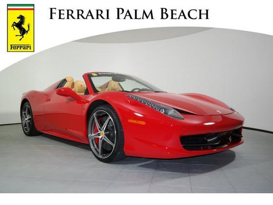 2013 Ferrari 458 Spider:18 car images available