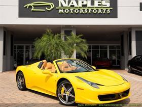 2014 Ferrari 458 Spider:18 car images available