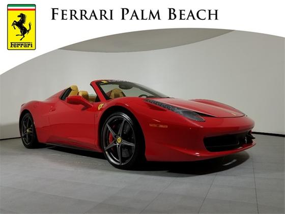2012 Ferrari 458 Spider:20 car images available