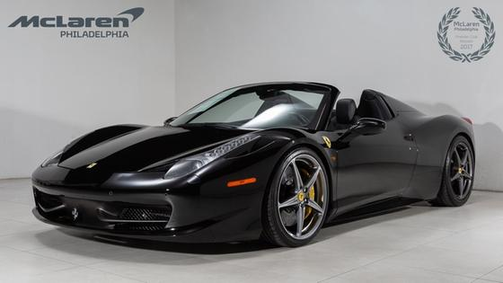 2013 Ferrari 458 Spider:23 car images available