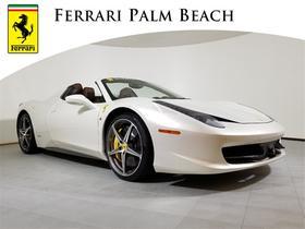 2012 Ferrari 458 Spider:20 car images available