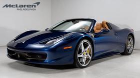 2013 Ferrari 458 Spider:21 car images available