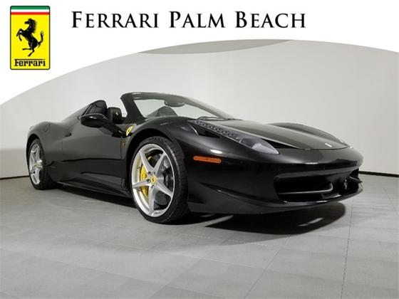 2013 Ferrari 458 Spider:20 car images available