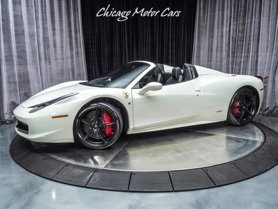 2013 Ferrari 458 Spider:24 car images available