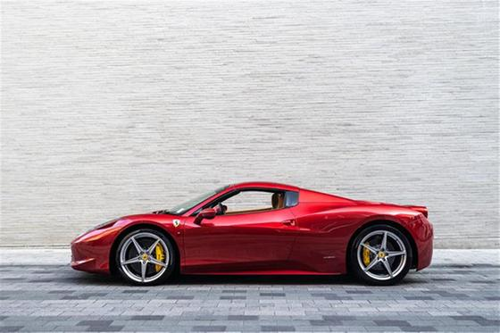 2013 Ferrari 458 Spider:14 car images available