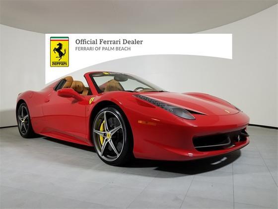 2013 Ferrari 458 Spider:20 car images available