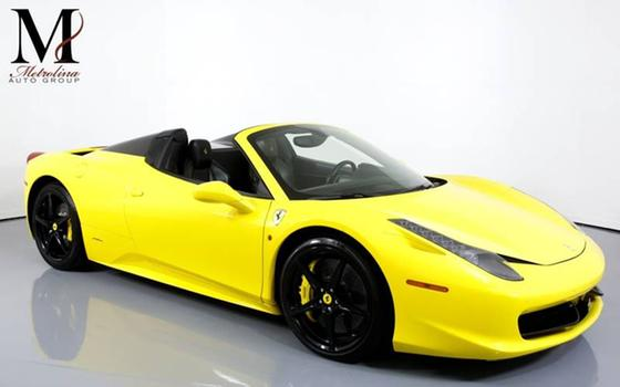 2015 Ferrari 458 Spider:24 car images available