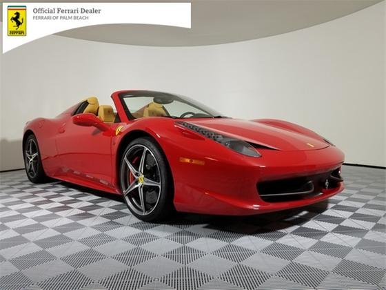 2014 Ferrari 458 Spider:20 car images available