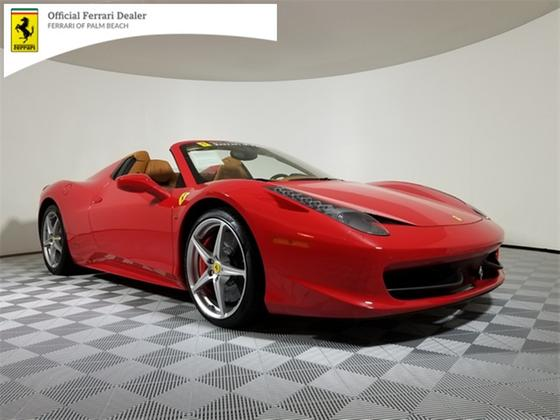 2015 Ferrari 458 Spider:20 car images available
