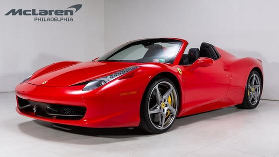 2015 Ferrari 458 Spider:21 car images available