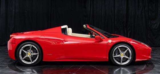 2014 Ferrari 458 Spider : Car has generic photo