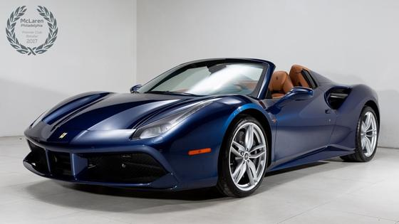 2017 Ferrari 488 Spider:22 car images available