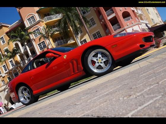 2001 ferrari 550 maranello for sale in naples fl exotic for Black horse motors naples fl