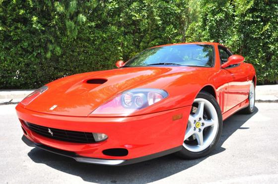 1998 Ferrari 550 Maranello:24 car images available