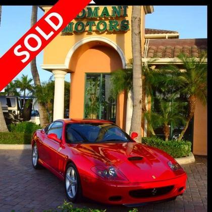 2003 Ferrari 575 M :24 car images available