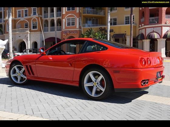 2002 ferrari 575 m maranello for sale in naples fl for Black horse motors naples fl