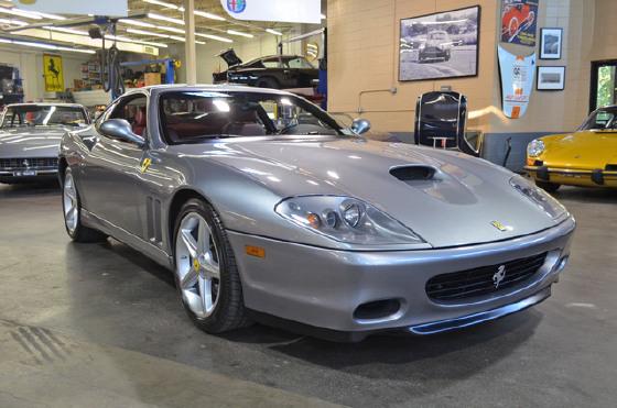 2002 Ferrari 575 M Maranello:18 car images available