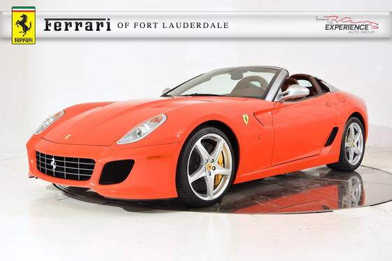 2011 Ferrari 599 SA Aperta:24 car images available