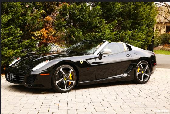2011 Ferrari 599 SA Aperta:9 car images available