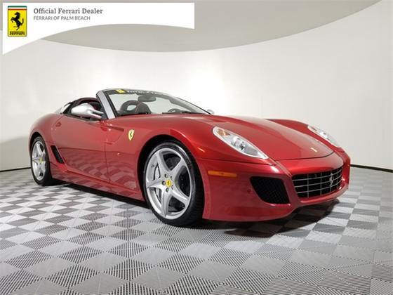 2011 Ferrari 599 SA Aperta:23 car images available