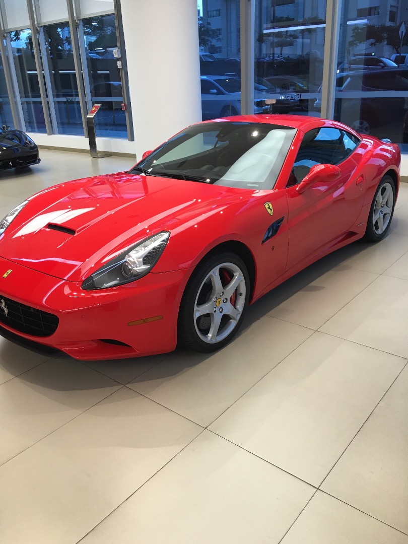 2012 Ferrari California GT