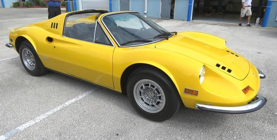 1973 Ferrari Dino GTS:6 car images available