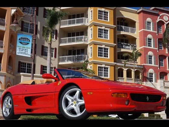 1996 Ferrari F355 Spider:24 car images available