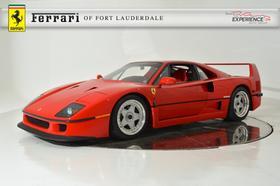 1991 Ferrari F40 :24 car images available