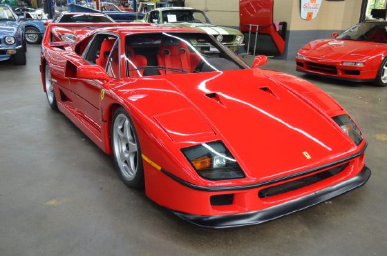 1991 Ferrari F40 :12 car images available