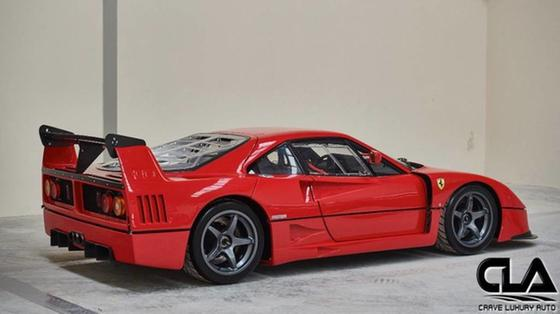 1992 Ferrari F40 Lm For Sale In The Woodlands Tx Global Autosports