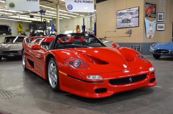1995 Ferrari F50 :24 car images available