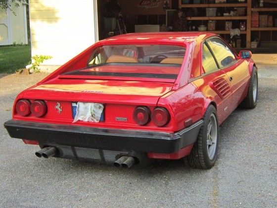 1982 ferrari mondial 8 for sale in indianapolis in exotic car list. Black Bedroom Furniture Sets. Home Design Ideas