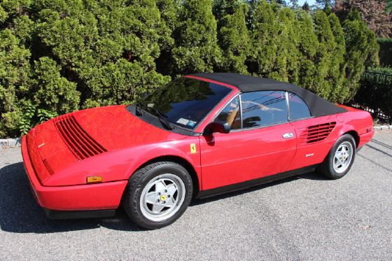 1987 Ferrari Mondial Cabriolet:12 car images available