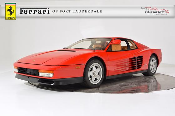 1986 Ferrari Testarossa :22 car images available