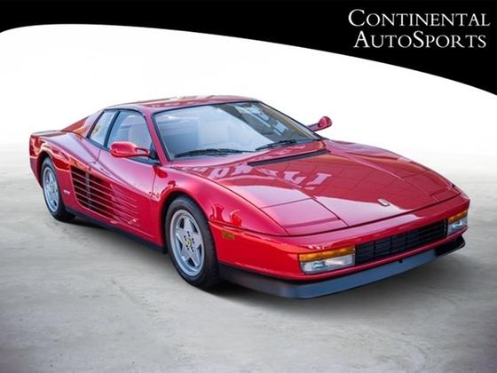 1990 Ferrari Testarossa :24 car images available