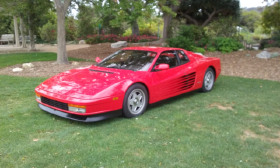 1987 Ferrari Testarossa :9 car images available