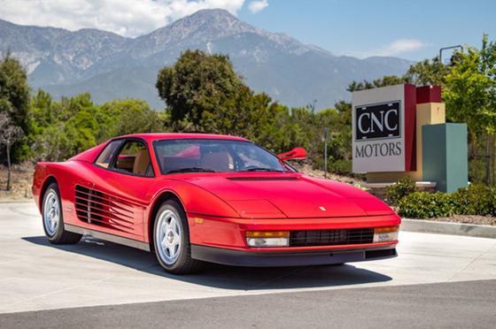 1985 Ferrari Testarossa :24 car images available