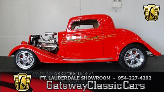 1934 Ford Classics 3 Window Coupe:24 car images available