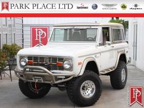 1972 Ford Classics Bronco:24 car images available