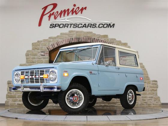 1971 Ford Classics Bronco:24 car images available